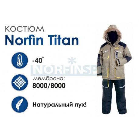 Зимний костюм Norfin Titan