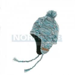 Водонепроницаемая шапка с веревками DexShell, голубая