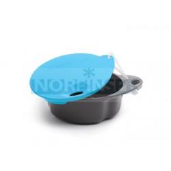 Кружка Light My Fire Spill-free cup, непроливайка синяя