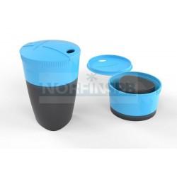 Кружка складная Light My Fire Pack-up-Cup, голубая