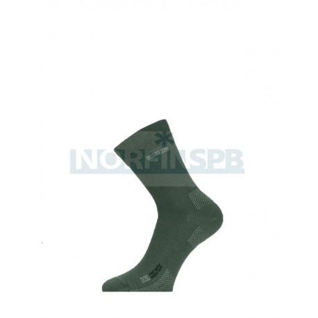 Носки трекинговые Lasting OLI 620, зеленые