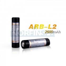 Аккумулятор Fenix 18650, 2600 mAh (Защищен)