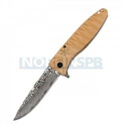 Складной нож Ganzo G620, желтый