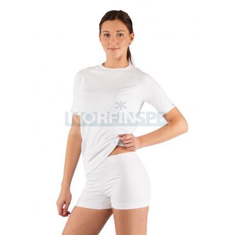 Женская термофутболка Lasting Alba, белая