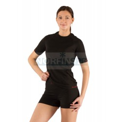 Женская термофутболка Lasting Alba, черная