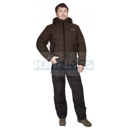 Куртка Novatex Партизан New, таслан/коричневый