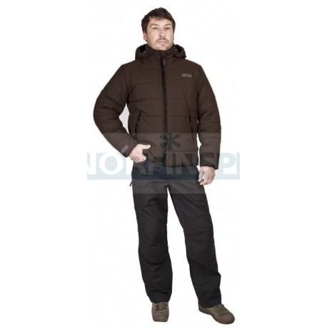 Зимняя куртка Novatex Партизан New, таслан/коричневый