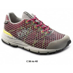 Треккинговые ботинки Lomer GO Ultra MTX, gray/pink/lime