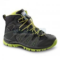 Треккинговые ботинки Lomer Jungle Junior, black/lime