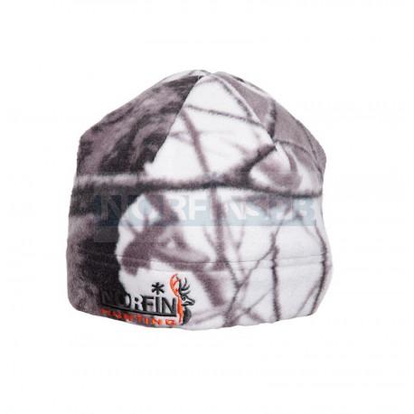 Флисовая шапка Norfin Hunting White