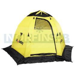 Зимняя рыболовная палатка Holiday EASY ICE 210x245 x155, желтый