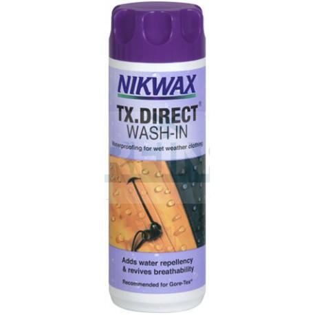 Водоотталкивающая пропитка для мембранных тканей Nikwax TX Direct Wash-in (300 мл)