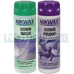Набор Nikwax Twin Down Wash/Down Proof (300 мл)