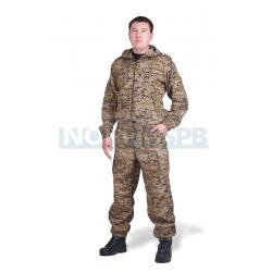 Летний костюм NOVATEX  Спецназ, коричневая цифра