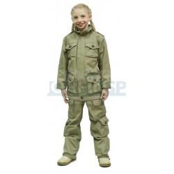 Детский летний костюм Novatex НАТО, кофе