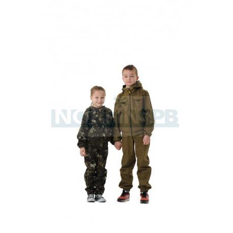 Детский летний костюм Novatex Скаут, бурелом
