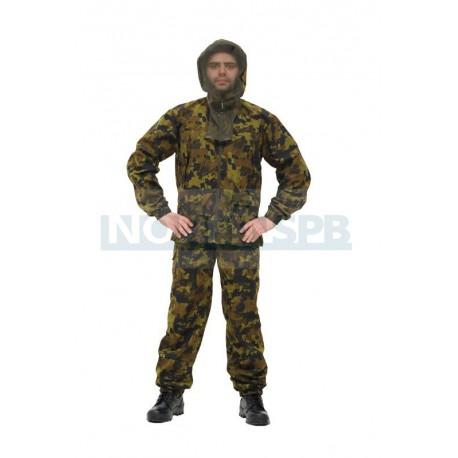 Летний костюм NOVATEX  Лесовик, клетка хаки