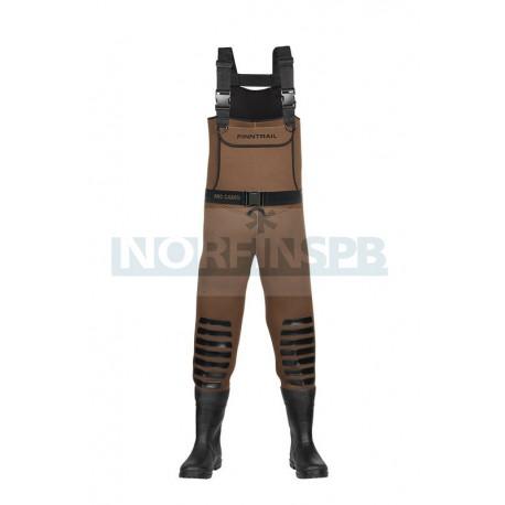Вейдерсы FINNTRAIL DUCK HUNTER, brown