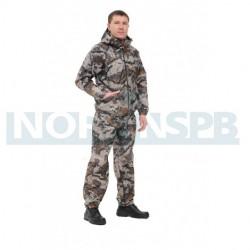 Летний костюм Novatex Грибник, геометрия бежевый