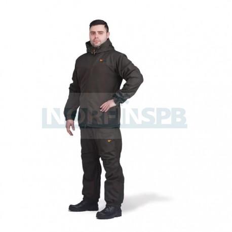 Демисезонный флисовый костюм Novatex, Манси, хаки