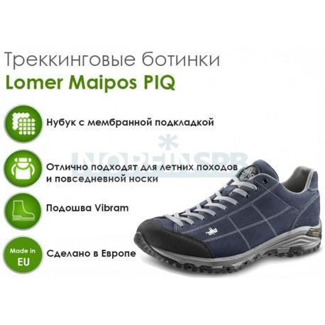 Треккинговые ботинки Lomer Maipos PIQ