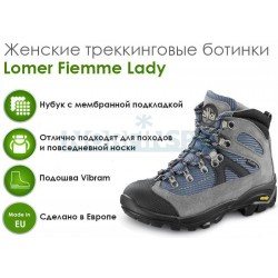 Женские треккинговые ботинки Lomer Fiemme Ledy,  Ash Navy