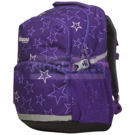 Детский школьный рюкзак Bergans 24 L, Amethyst Stars
