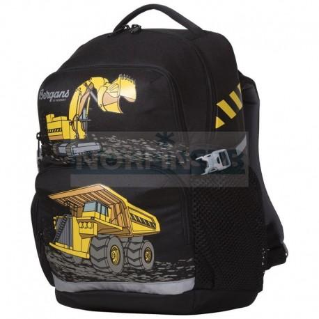 Детский школьный рюкзак Bergans 24 L, Black Trucks