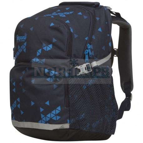 Детский школьный рюкзак Bergans 24 L, MidnightBlue Triangle