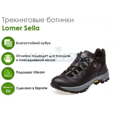 Треккинговые ботинки Lomer Sella M.T.X., black