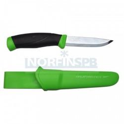 Нож Morakniv Companion Green, нержавеющая сталь