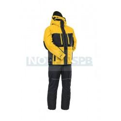 Зимний костюм Novatex Кайт, черный/желтый