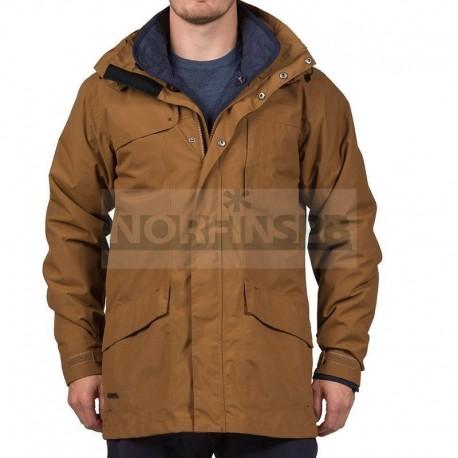 Куртка 3 в 1 Bergans Aune 3in1 Jkt, Cognac