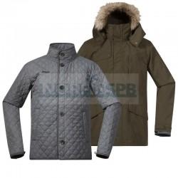 Куртка 3 в 1 Bergans Aune 3in1 Jkt, ArmyGreen