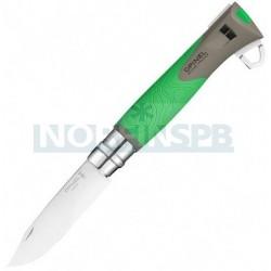 Нож Opinel №12 Explore, зеленый