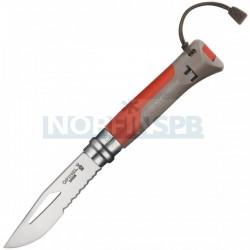 Нож Opinel №8 Outdoor Earth красный