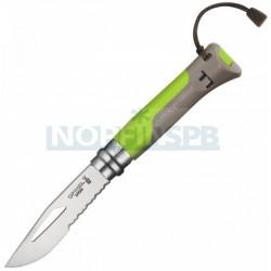 Нож Opinel №8 Outdoor Earth зеленый