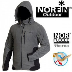 Флисовая куртка Norfin Outdoor Gray