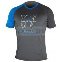 Футболка Direct Alpine LASER 5.0 anthracite/blue, activity