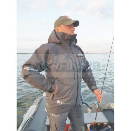 Костюм рыболовный GRAFF демисезонный (братекс 20000, серый)