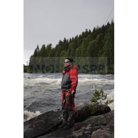 Костюм рыболовный GRAFF демисезонный (братекс 20000, красный)