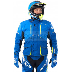 Куртка Dragonfly Эндуро Freeride DF Blue-Yellow