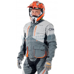 Куртка Dragonfly Эндуро Freeride DF Grey-Orange