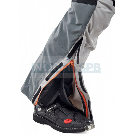 Штаны Dragonfly Эндуро Freeride DF Grey-Orange