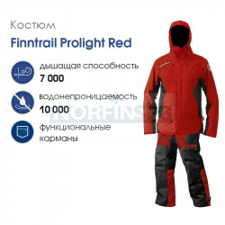 Костюм Finntrail ProLight, red
