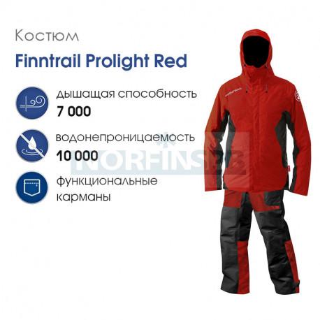 Костюм Finntrail ProLight, red