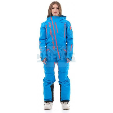 Комбинезон Dragonfly SKI Premium WOMAN BLUE 2020