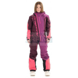 Комбинезон Dragonfly SKI Premium WOMAN PURPLE&BROWN 2020