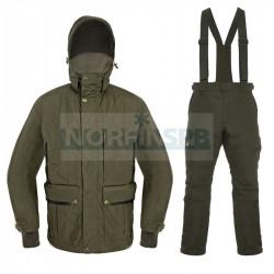 Костюм зимний охотничий GRAFF с курткой-подстежкой пуховиком (братекс 10 000, оливковый, -25) 2019
