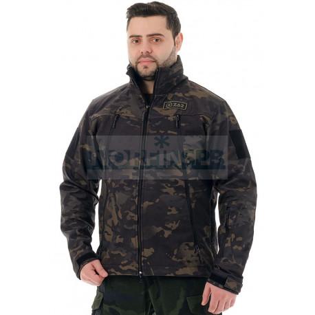 Куртка Novatex Альфа, черный мультикам